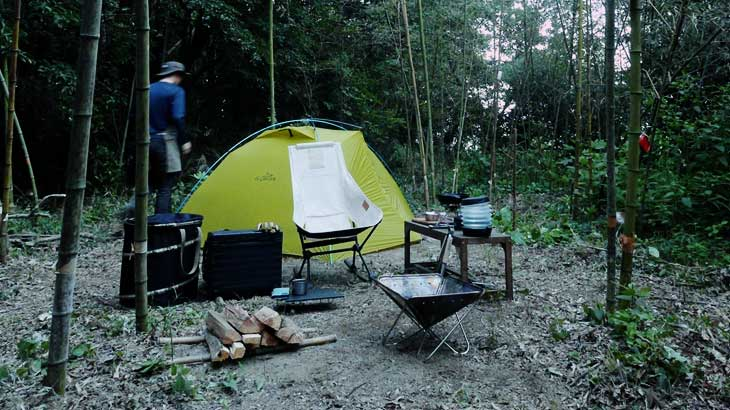CAMP #1-1|ラボリエ初ソロキャンプ・前編