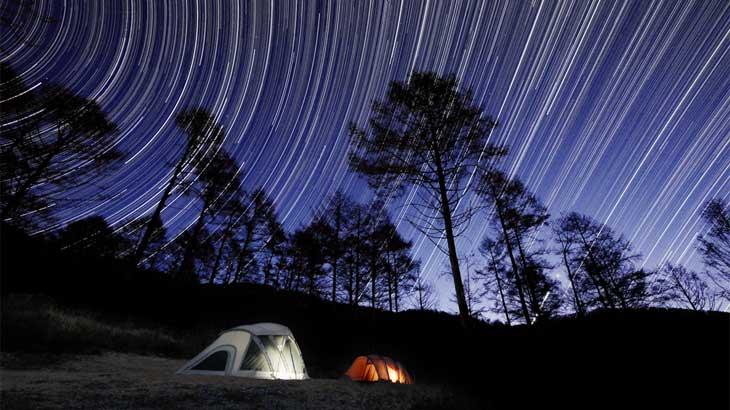 CAMP #5|牧場キャンプの星空撮影