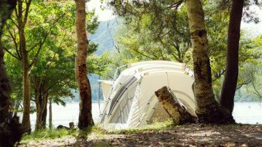 CAMP #37|秋の初めの湖畔キャンプ